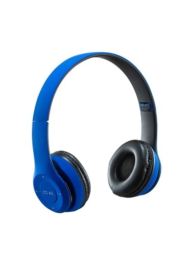 MF Product MF Product Acoustic 0131 Mikrofonlu Kulak Üstü Kablosuz tooth Kulaklık Mavi